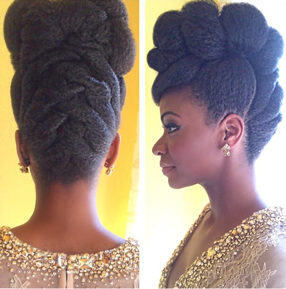teyona parris amazing afro hairstyle