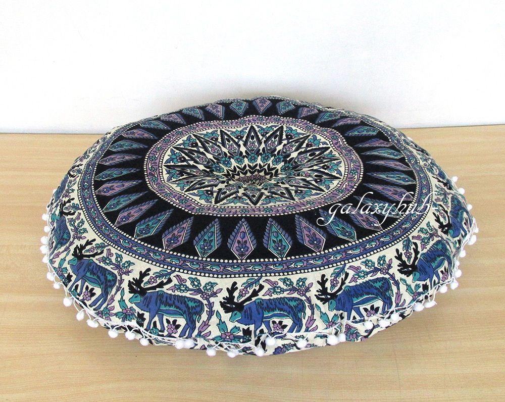 "Details about 28"" Large Mandala Round Floor Decorative"