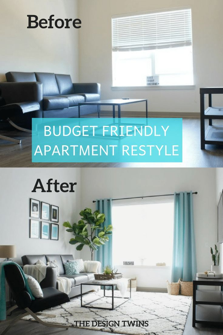 decorate apartment on a budget