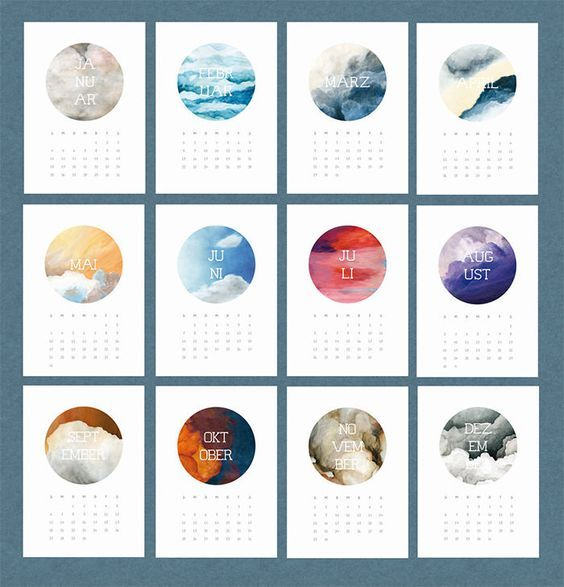 Image result for calendar design themes