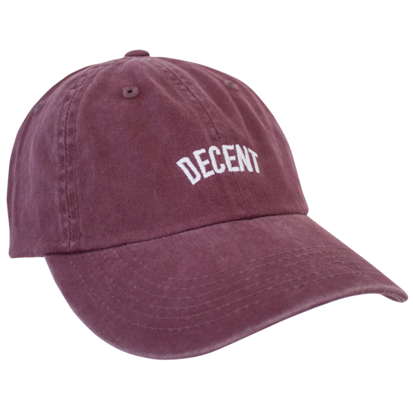 e36391b1699ce4 DECENT Dad Hat (MAROON) | Mad Decent | Online Store, Apparel, Merchandise &  More