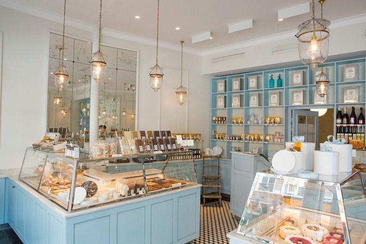 Hip Paris Bakery Interior Bakery Kitchen Patisserie Shop