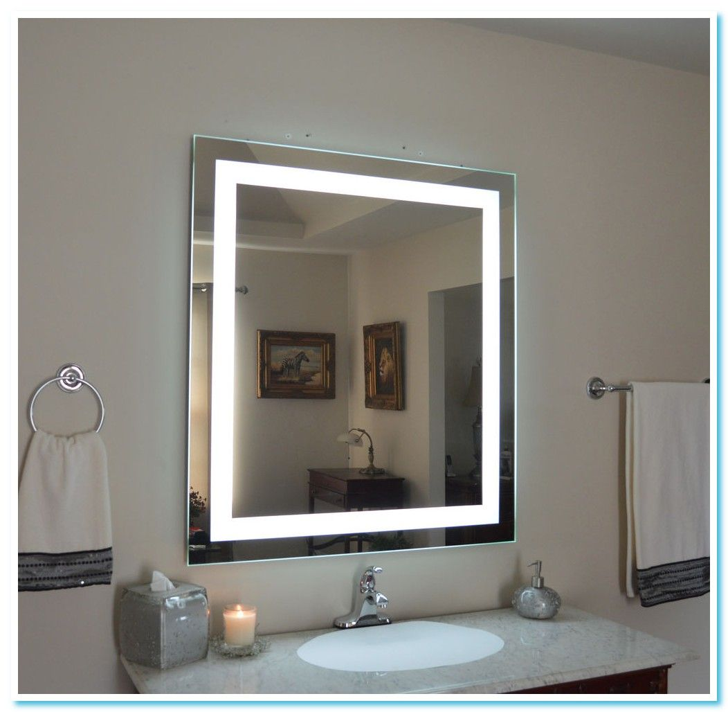 109 Reference Of Vanity Mirror With Lights Wall Mount In 2020 Lighted Wall Mirror Mirror Wall Bathroom Vanity Wall Mirror