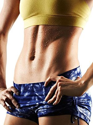 The Power Abs Workout  Shrink your waist, improve your posture and gain more confidence with this quick ab routine.
