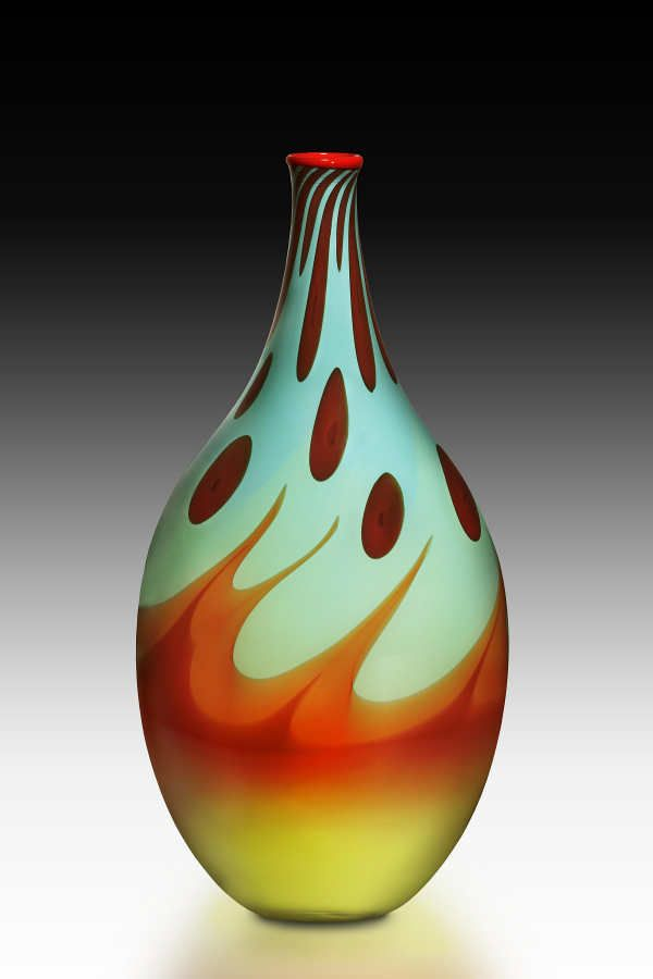 Thomas Maras Searing Sun Horizon. #glassart #artglass #artwork http://www.pinterest.com/TheHitman14/art-glasscrystal-%2B/