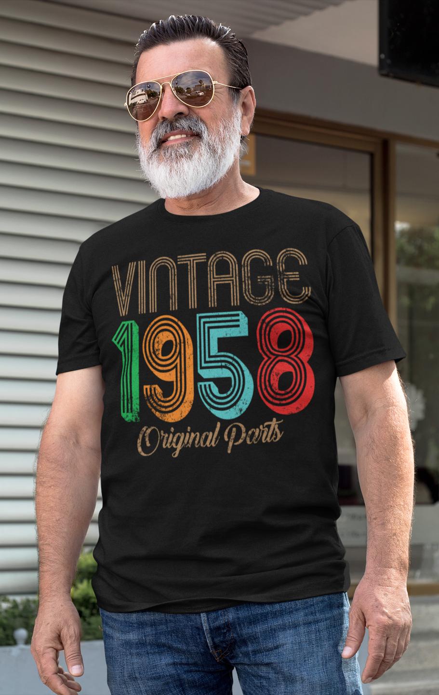 Vintage 1959 Original Parts 60th Birthday T Shirt 60th