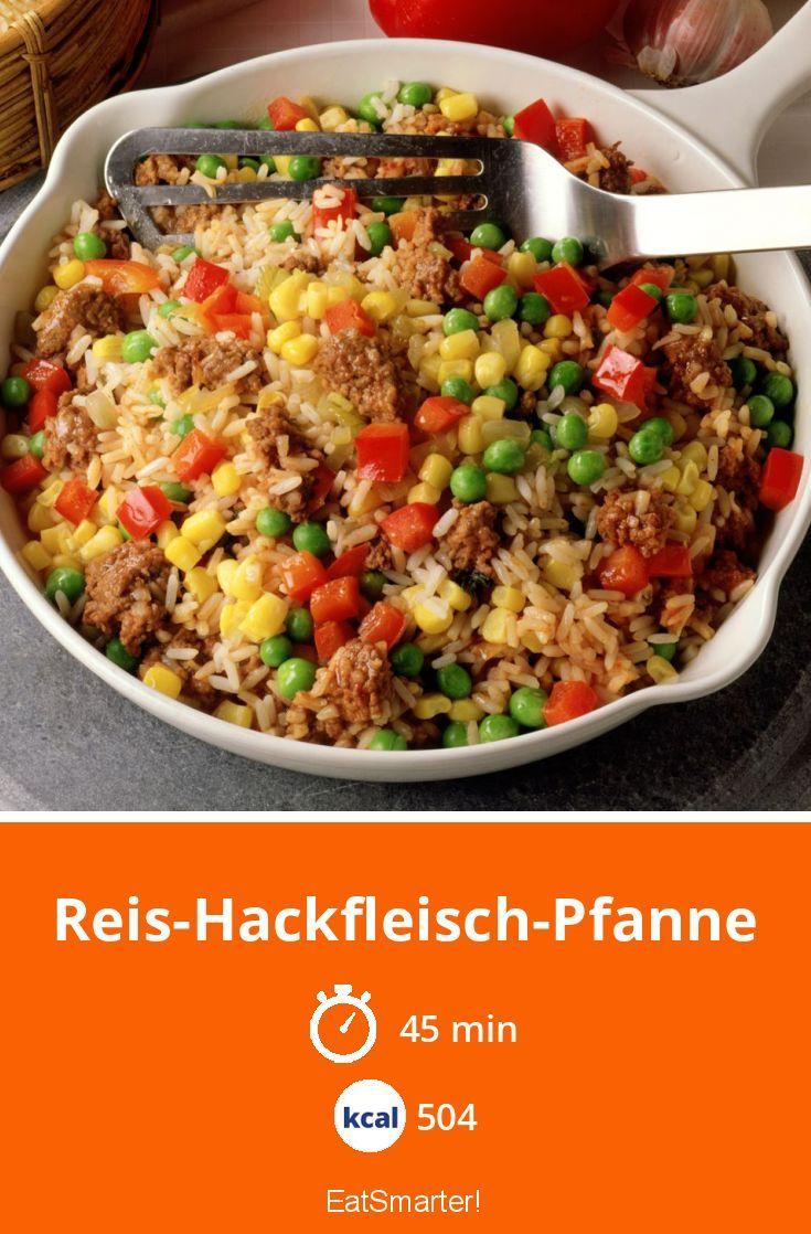 Reis-Hackfleisch-Pfanne #grilledshrimp