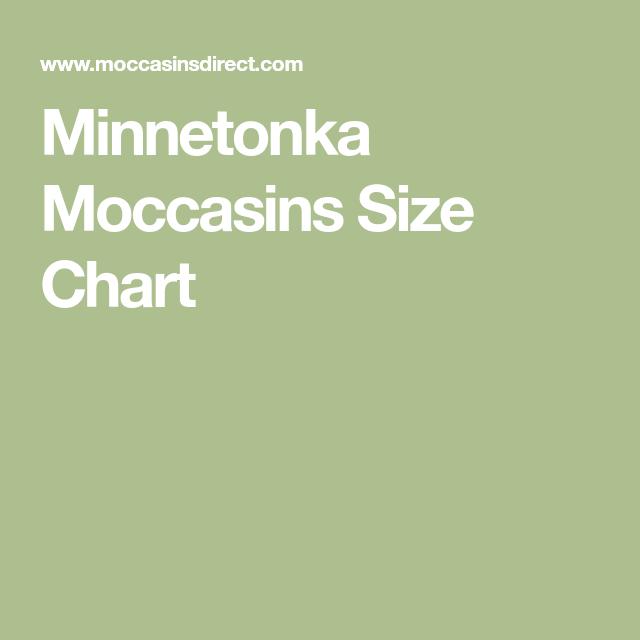 Minnetonka Moccasins Size Chart