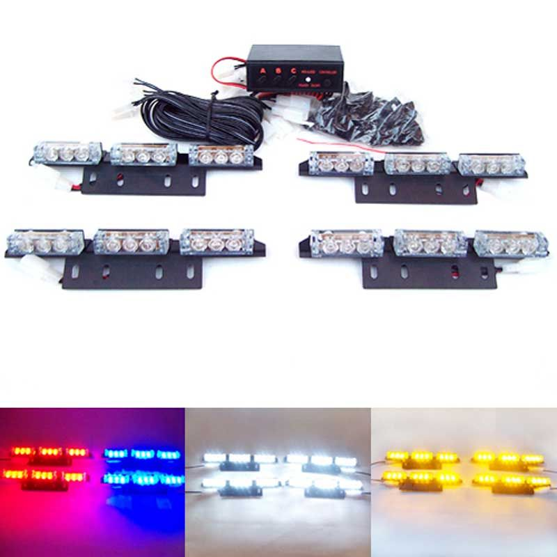 Strobe Lights For Cars Captivating 36 Leds Car Vehicle Auto Strobe Flash Emergency Lights For Front