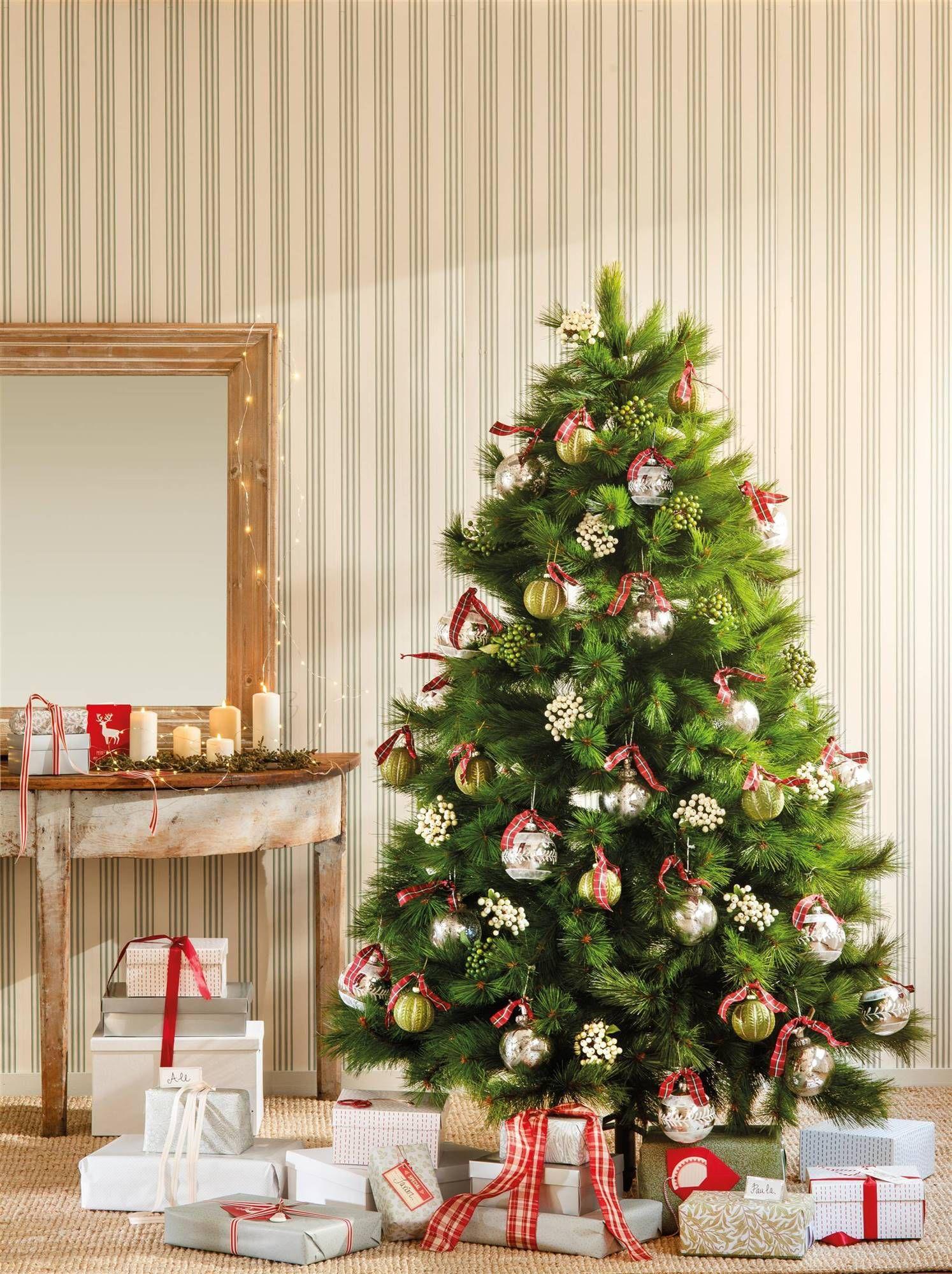 El Calor De La Navidad Decoracion Del Arbol Navidad Arbol De Navidad