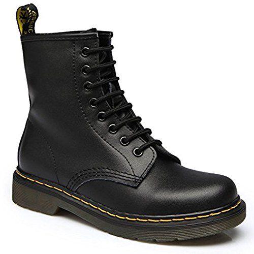 Boots à Lacets Noir Homme Doc Martens