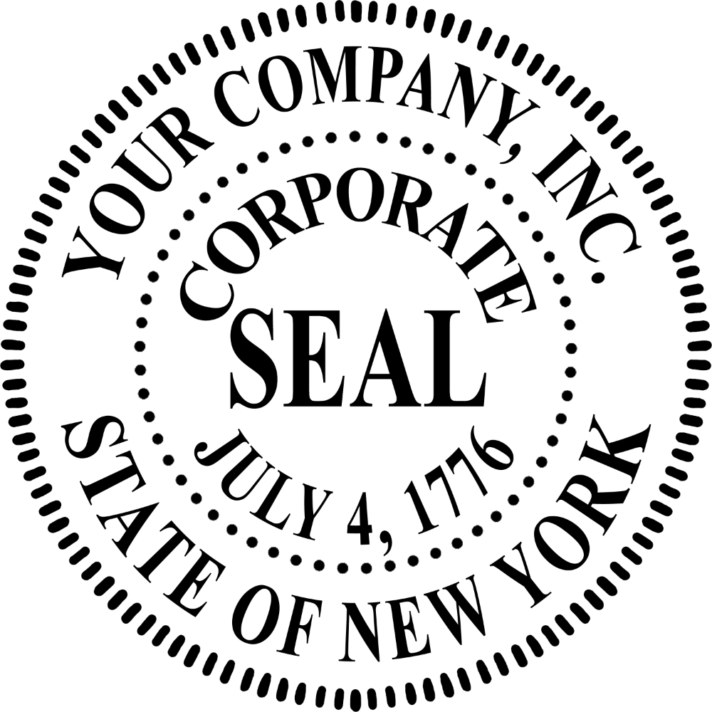 Free Corporate Seal Template Seal, Templates, Template free