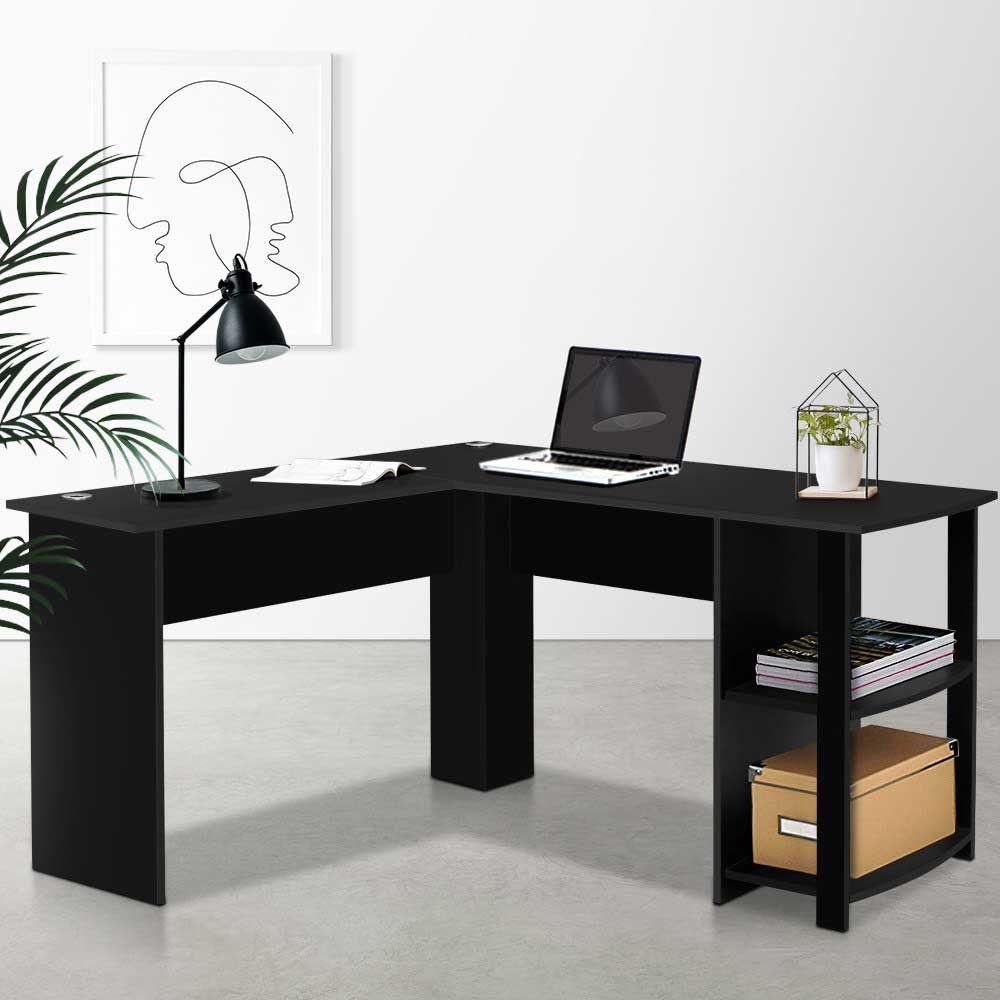 Artiss Office Computer Desk Corner Student Study Table Workstation