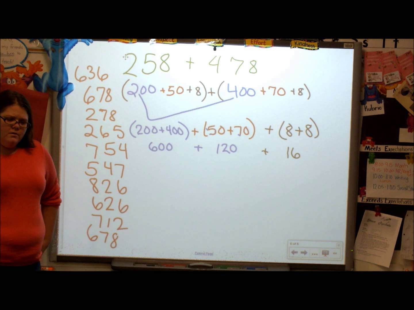 3 Digit Addition Using Expanded Form