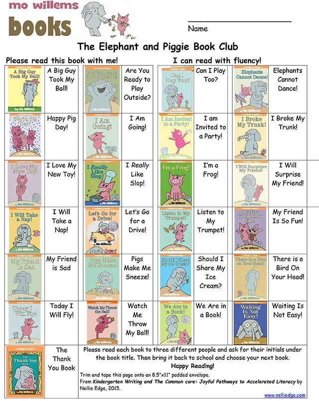 Free Teacher Resouces - Kindergarten and Early Literacy Book clubs - new mo willems coloring pages elephant and piggie