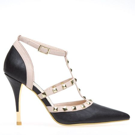 Sophisticated pump with an edge.