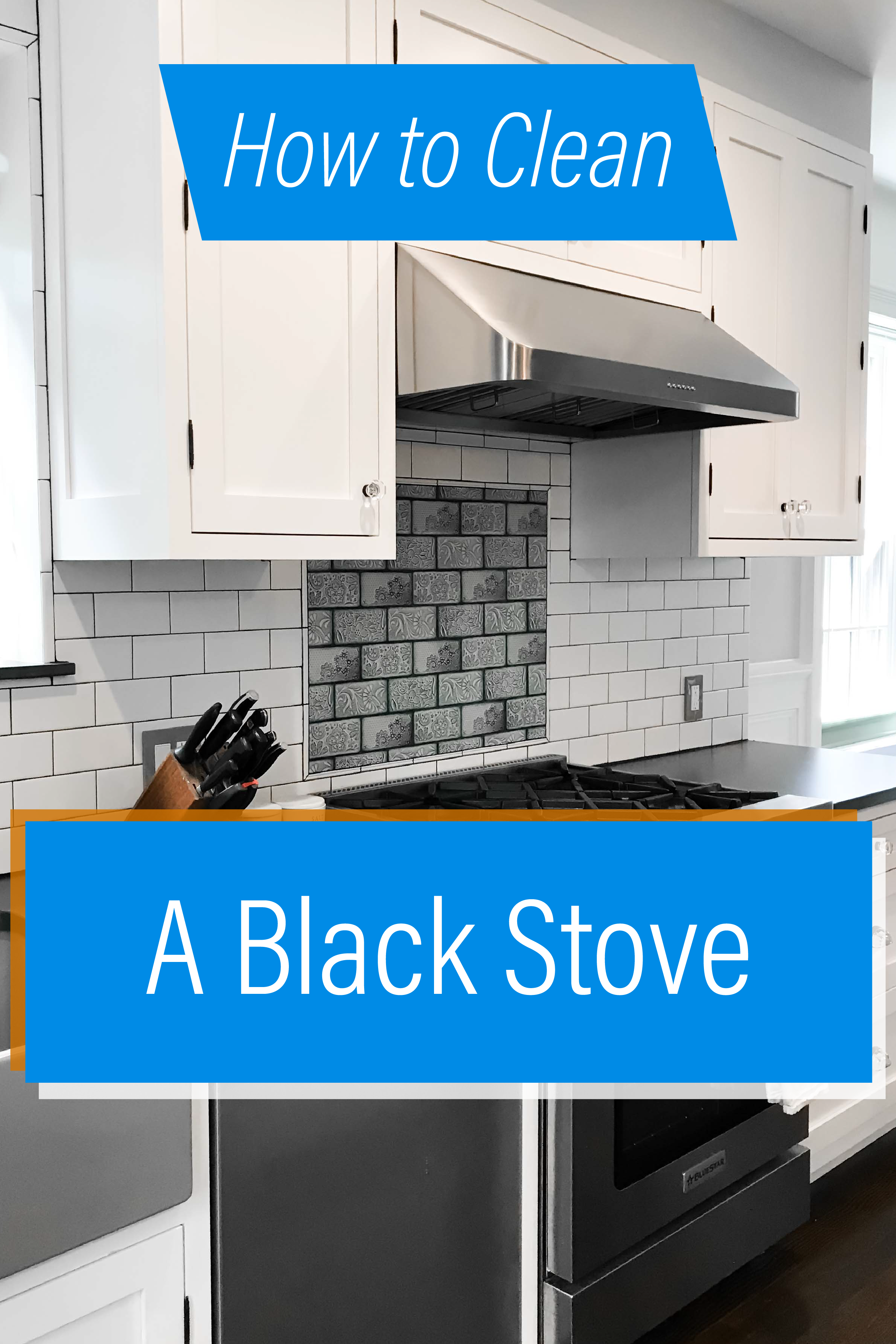 How To Clean A Black Stove Top Clean Stove Top Stove Cleaning Appliances