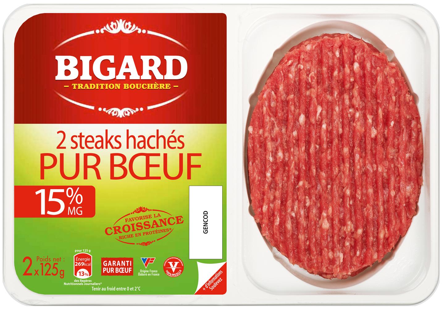 Populaire Steak haché Bigard | Bigard | Pinterest XU17
