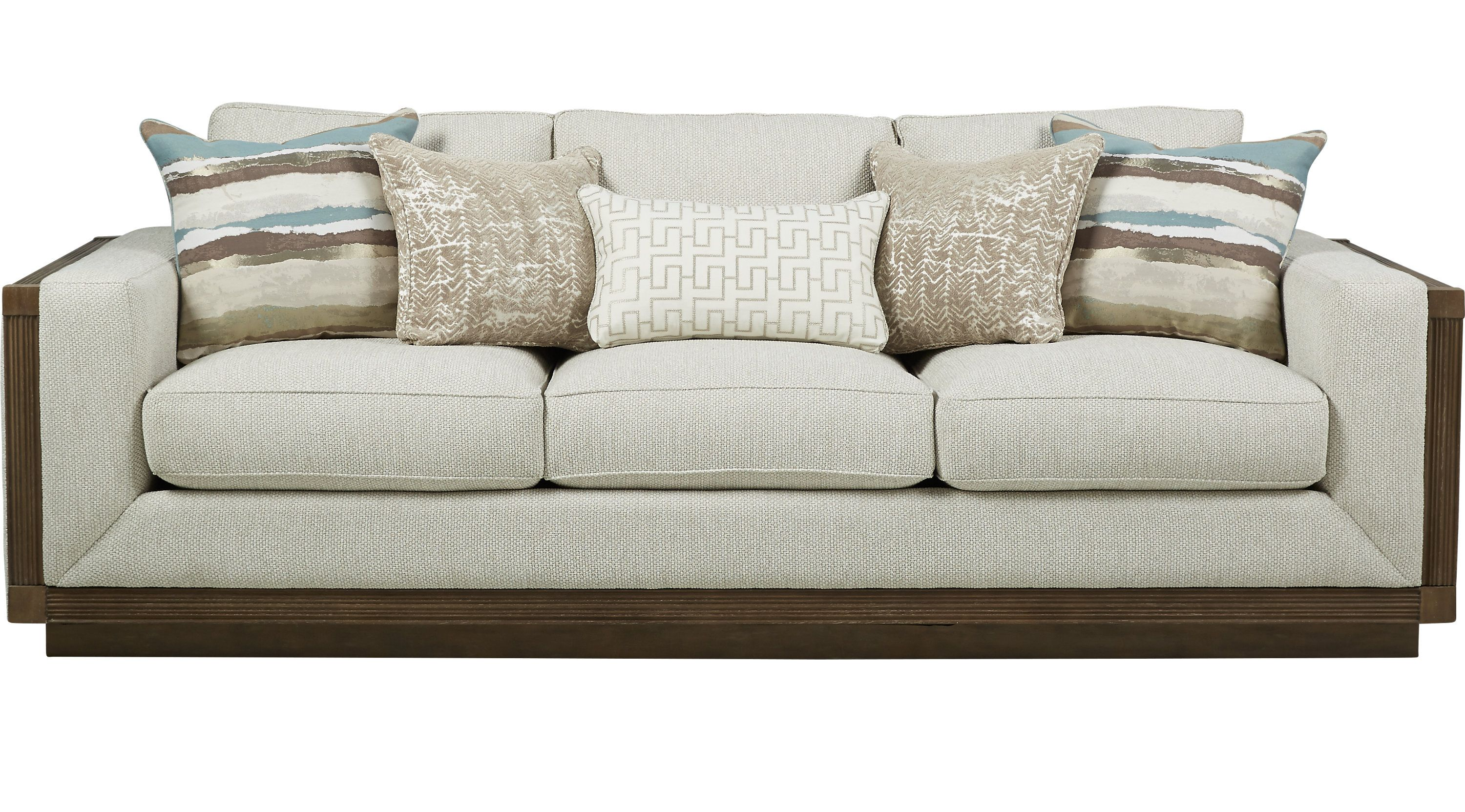 Sofas Cindy Crawford Cindy Crawford Home Pacific Harbor Beige