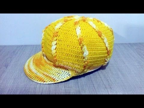 Boina de Croche Burguesinha - Aprendendo Crochê - YouTube  ce078de1406