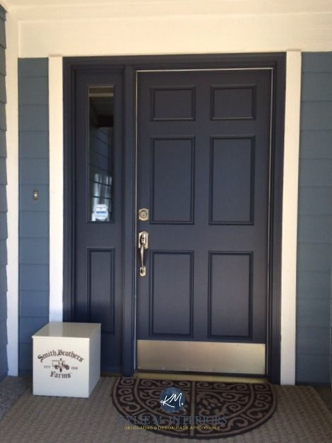 What Are The Best Paint Colours For Your Front Door Painted