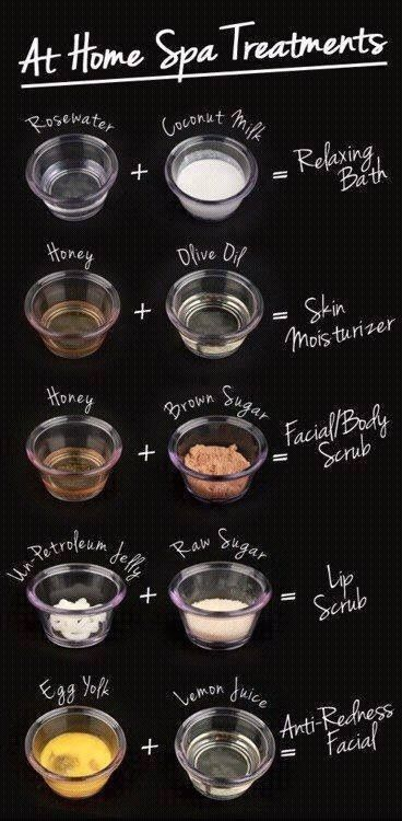 Home spa treatments | Make your own #Spa products howtomakespaprodu...