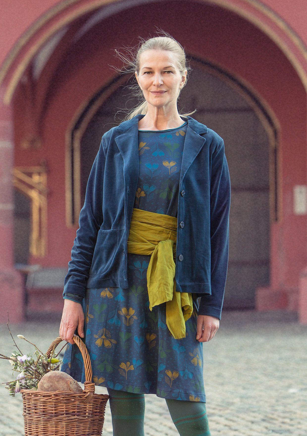 f4bf783ac80dfe Velour jacket in eco-cotton polyester – New arrivals – GUDRUN SJÖDÉN –  Webshop