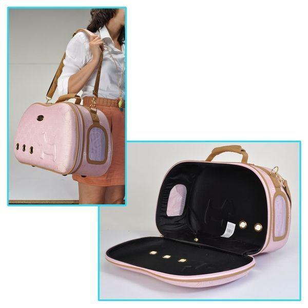 sacs de voyage de luxe camon rose pour chien et chat our. Black Bedroom Furniture Sets. Home Design Ideas