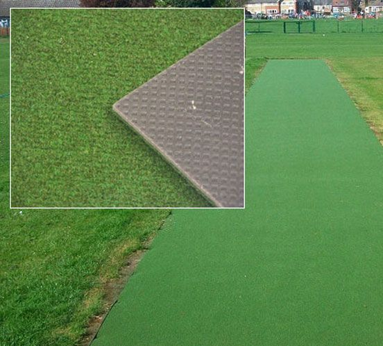 Professional Grade Composite Ibc Cricket Surface With An Intergrated Shock Pad This Indoor And Outdoor Matting Is Designed To Be Laid Turf Outdoor Mat Outdoor