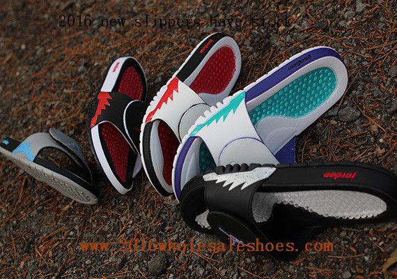 bd7f7076b Jordan Hydro 5 Retro Men Massage Slippers Fives Color