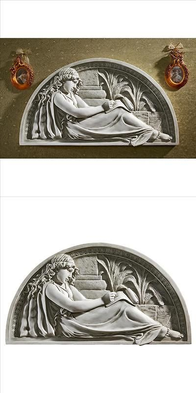 Wall Sculptures 166729: The Little Author Lunette Frieze Design Toscano Lunette Wall Sculpture -> BUY IT NOW ONLY: $72.9 on eBay!