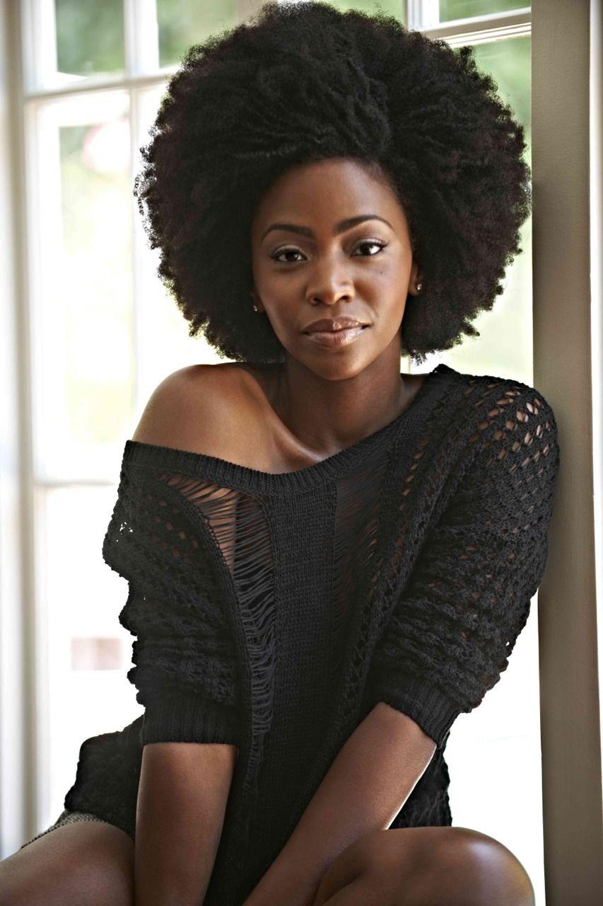 Teyonah Parris Natural Hair Styles Black Natural Hairstyles Beautiful Black Women