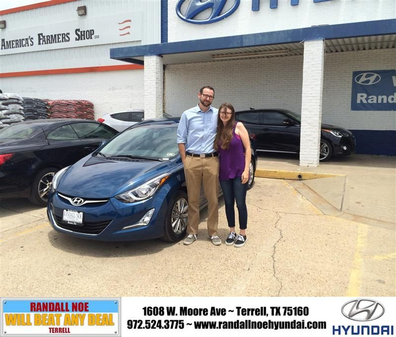 Congratulations to Andrew Autry on your #Hyundai #Elantra purchase