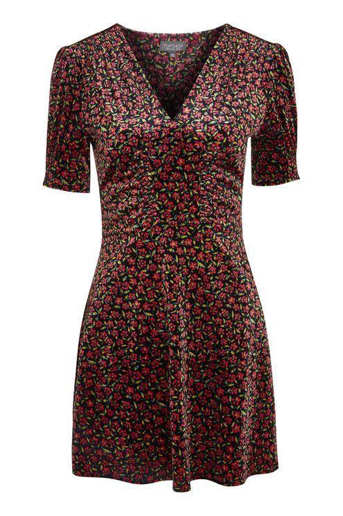 Bizzy Lizzy Velvet Tea Dress Idees Vestimentaires Robes De Jour Mode Automne