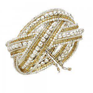 Mughal Gems Cuff Bracelet