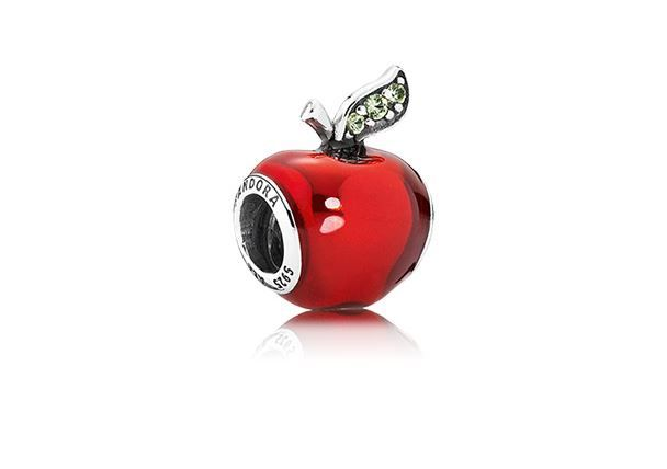 charm pandora mela biancaneve