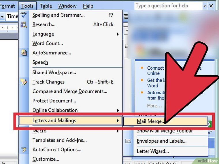 Mail Merge Address Labels Using Excel and Word Address