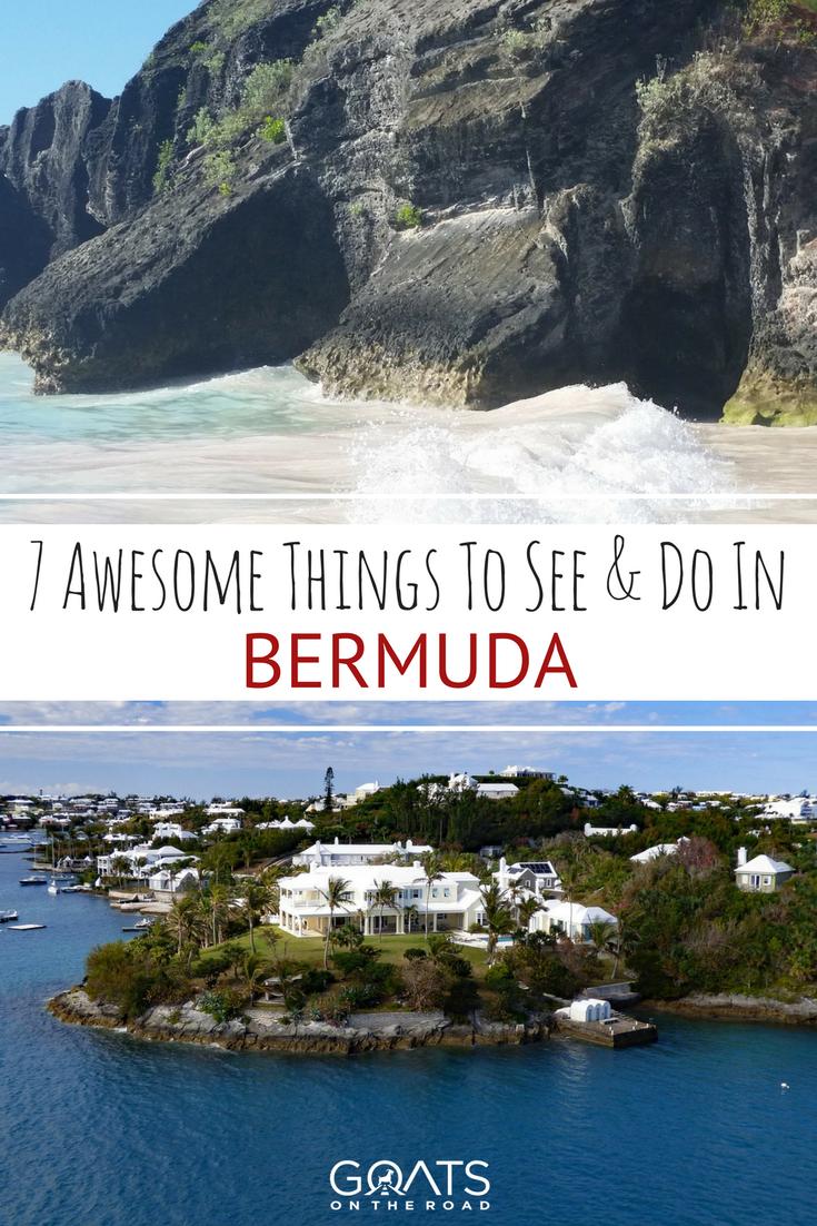 7 Must-See Places in Bermuda | Vacation | Bermuda travel ...