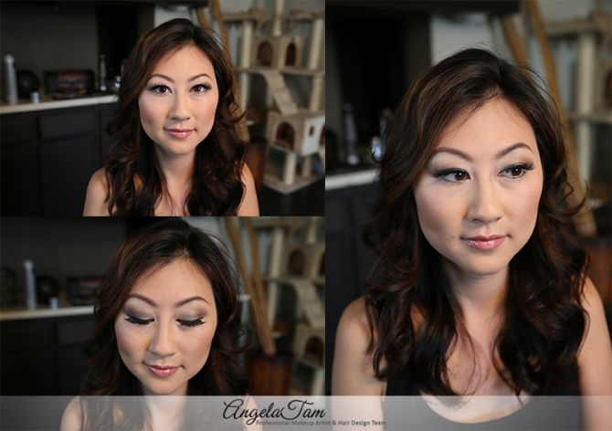 Los Angeles Asian Bride Wedding Makeup Artist Celebrity Wedding