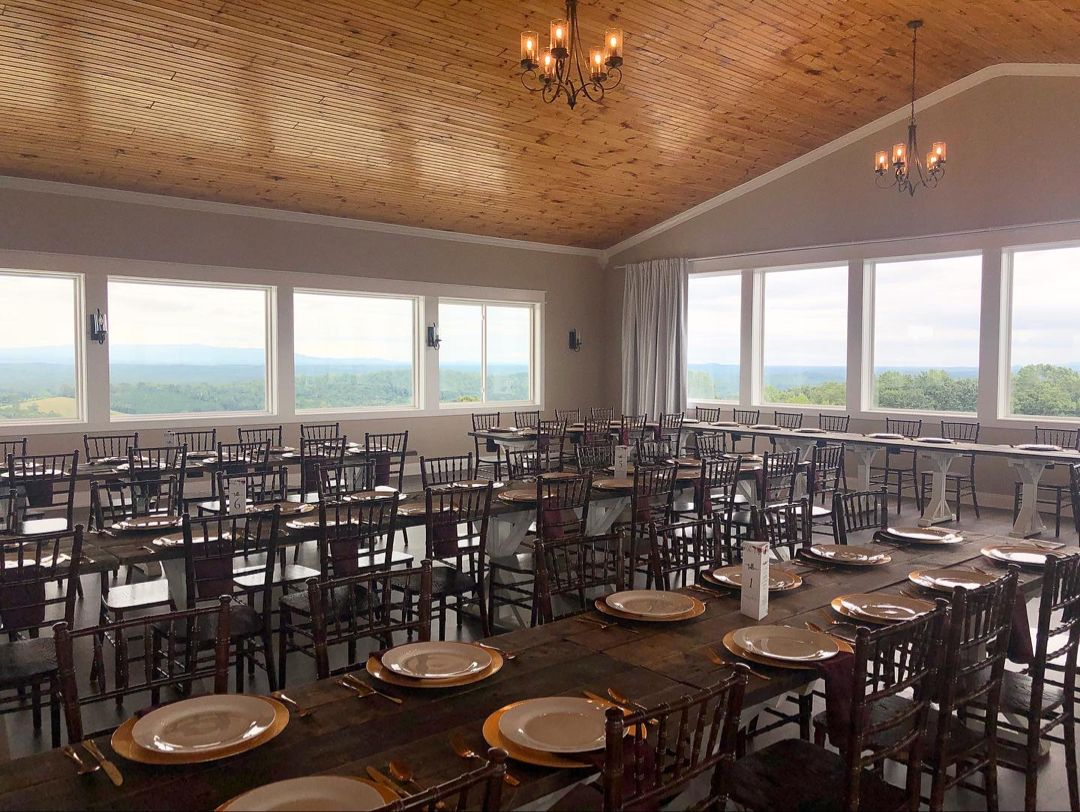 The Views at Sunset Ridge is a beautiful venue in