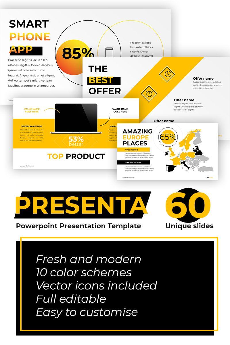 Postore Business / Start UP PowerPoint Template 73772