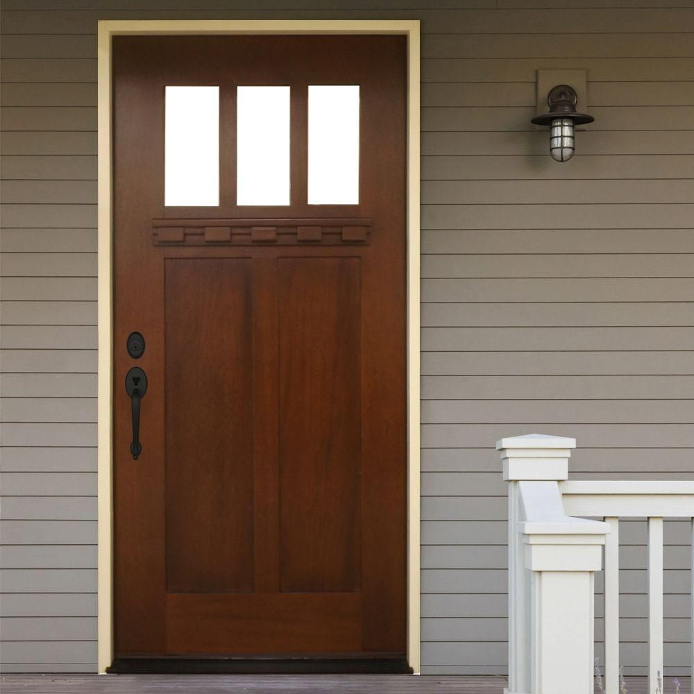 My Search For The Perfect Front Door Craftsman Front Doors Wood