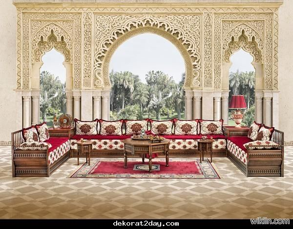 Arabian seating.