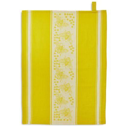 Bee Jacquard Kitchen Towel 28 Quot X 20 Quot Sur La Table Kitchen Tea Towels Kitchen Towels Sur La Table