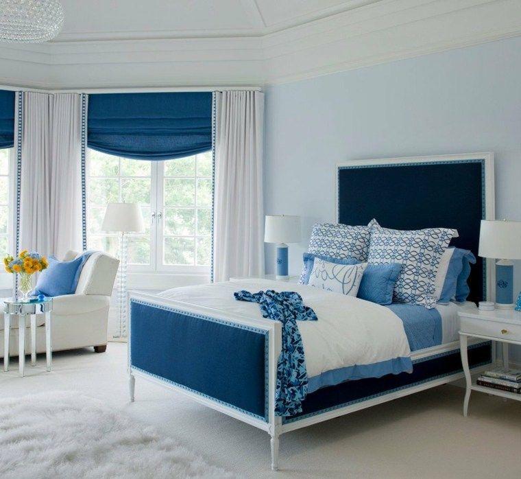 Déco chambre bleu calmante et relaxante en 47 idées design | HoUsE ...