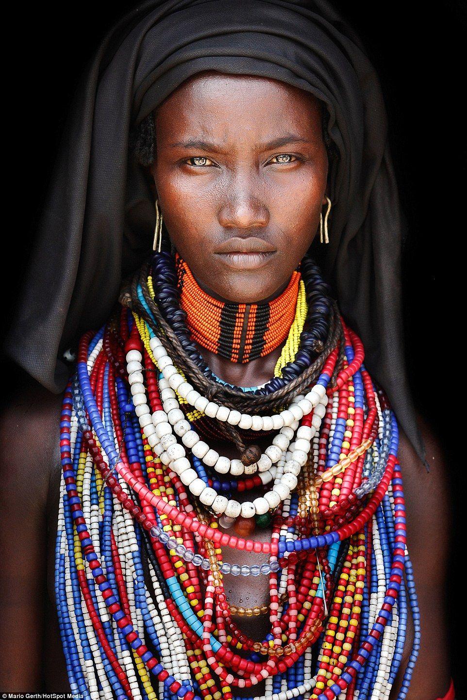 women Girl tribe african