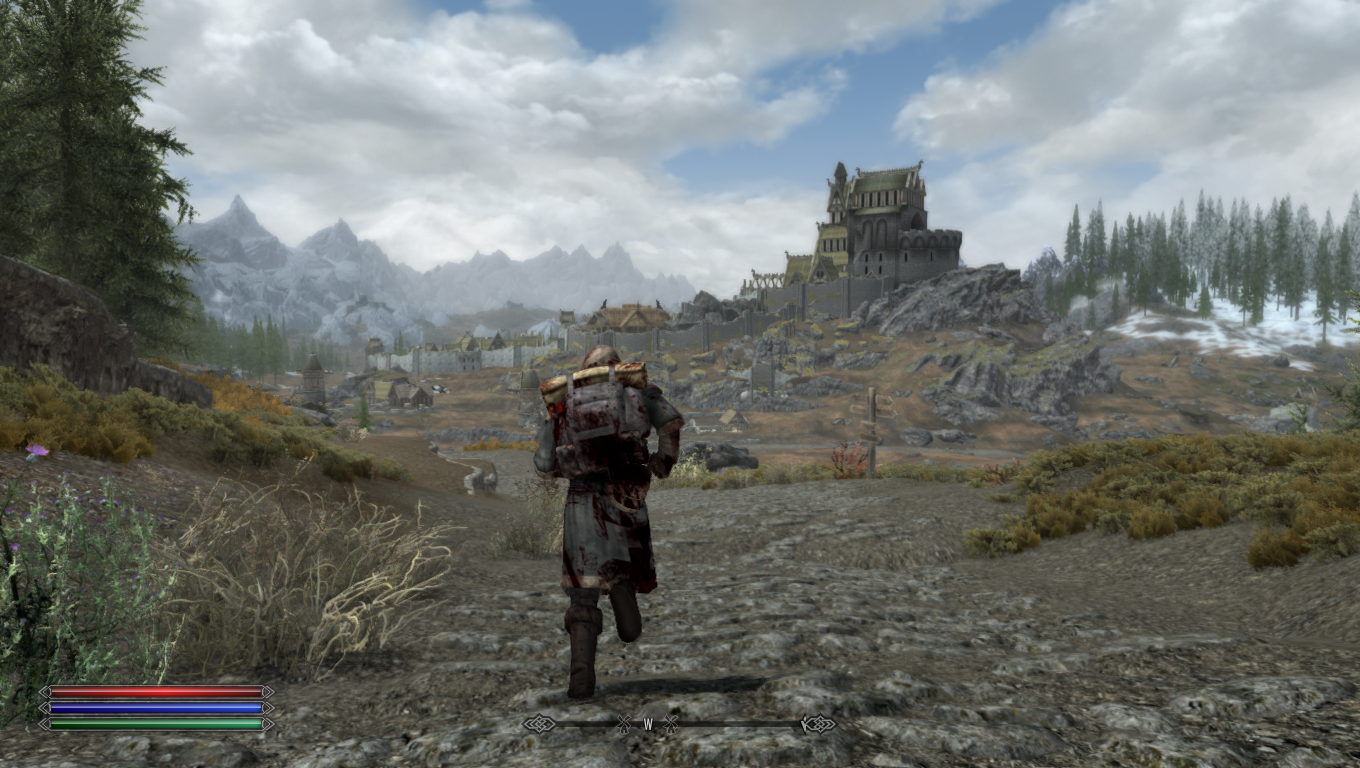 Dyndolod and high poly lod terrain be praised games skyrim elderscrolls