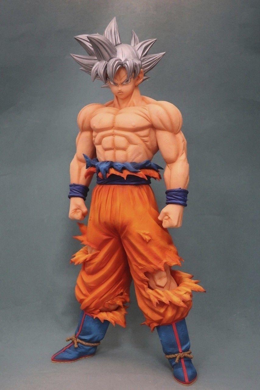 2020 HOT Dragon Ball Super ULTRA INSTINCT SON GOKOU Goku Figure Grandista