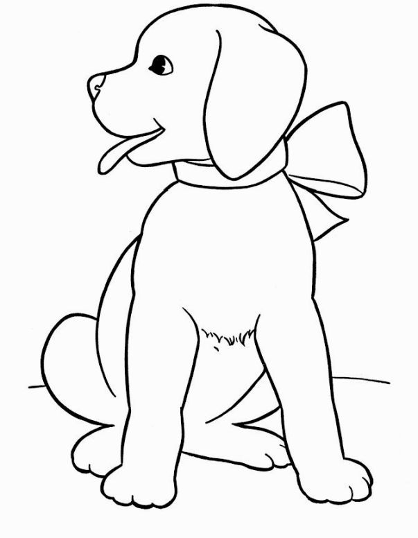 Puppy Dog Coloring Pages | Coloring Pages | Pinterest