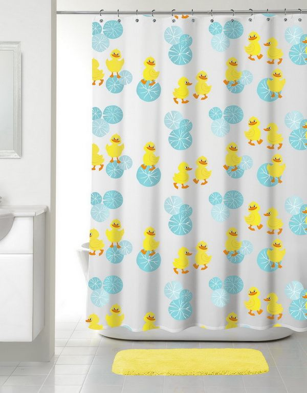 Duck Shower Curtains Gallery Of The Funny And Cute Rubber Duck Shower Curtain Duck Shower Curtain Shower Curtain Curtains
